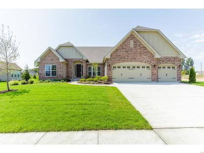 O'Fallon Single Family Home For Sale: 408 Gatehouse Circle