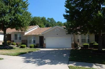 St Charles County Condo/Townhouse For Sale: 48 Spring Gardens Court