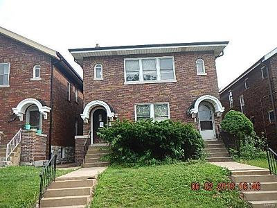 St Louis City County Multi Family Home For Sale: 3912 Dunnica Avenue
