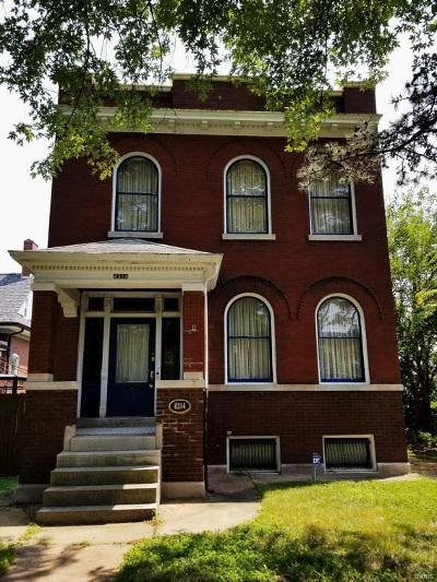 St Louis City County Single Family Home For Sale: 4314 Virginia Avenue