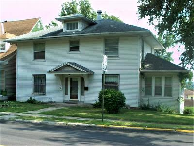Hannibal MO Single Family Home Contingent No Kickout: $45,000