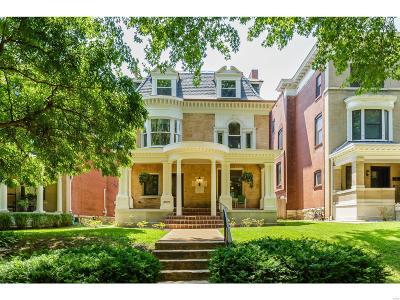 St Louis City County Single Family Home For Sale: 4370 McPherson Avenue