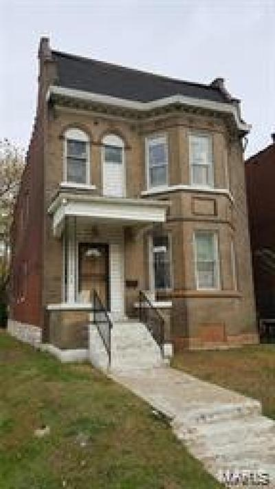 St Louis City County Single Family Home For Sale: 4473 Delmar Boulevard