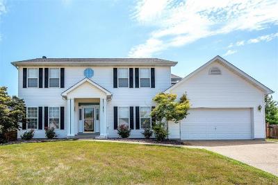 O'Fallon Single Family Home For Sale: 206 Sunshine Drive