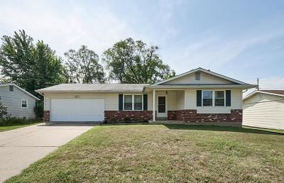 St Charles Single Family Home Contingent No Kickout: 1228 South Wheaton Drive