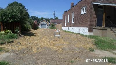 St Louis City County Residential Lots & Land For Sale: 4027 Winnebago Street
