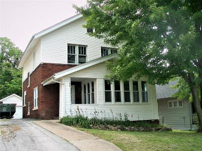Hannibal MO Single Family Home For Sale: $86,000