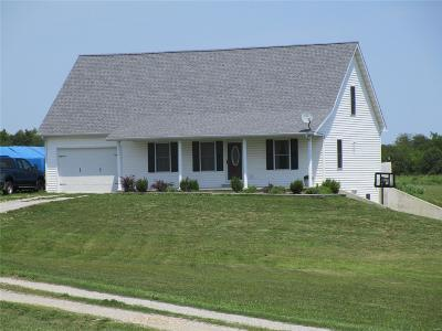 Monroe City, Paris, Perry, Stoutsville, Center, New London, Vandalia Single Family Home For Sale: 56940 Millwood Estates