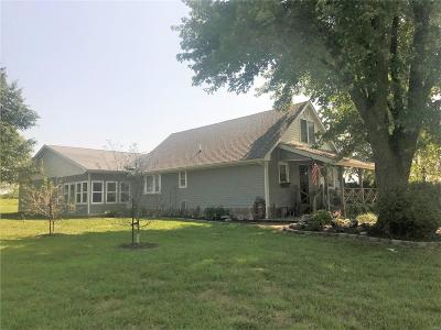 Monroe City, Paris, Perry, Stoutsville, Center, New London, Vandalia Single Family Home For Sale: 55272 Buffalo Lane