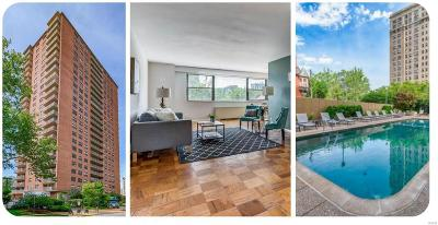 St Louis City County Condo/Townhouse For Sale: 4466 West Pine #4G