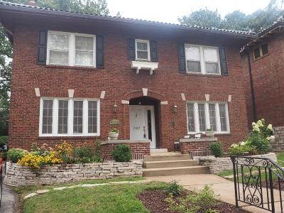 University City Single Family Home For Sale: 7407 Stratford Avenue