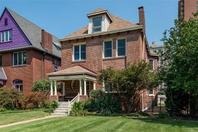 St Louis City County Single Family Home For Sale: 4475 Laclede Avenue