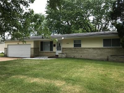 St Louis City County, St Louis County Single Family Home For Sale: 11106 Ebert Drive