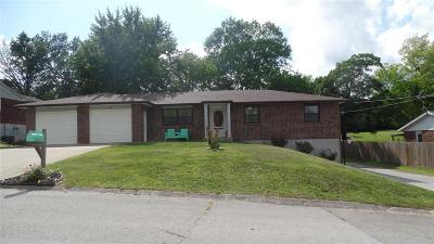 Hannibal MO Single Family Home For Sale: $159,900