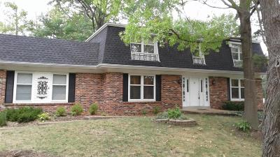 Ballwin Single Family Home For Sale: 563 Meadow Bridge