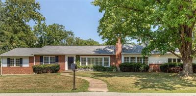 St Louis Single Family Home For Sale: 9 Alden Lane