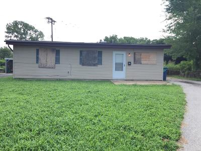 Cahokia IL Single Family Home For Sale: $34,000