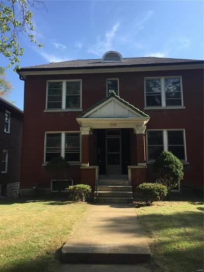 St Louis Single Family Home For Sale: 7132 Pershing Avenue