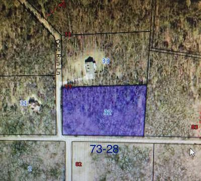 Residential Lots & Land For Sale: Wild Turkey Drive