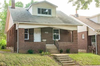 St Louis Single Family Home For Sale: 4962 Holly Hills