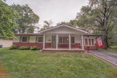 Belleville IL Single Family Home Active Under Contract: $65,000