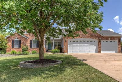 O'Fallon Single Family Home Contingent No Kickout: 7244 Westfield Woods Drive