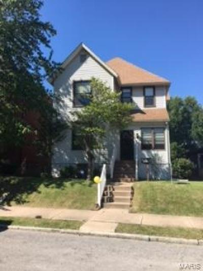 St Louis City County Single Family Home For Sale: 6435 Virginia Avenue
