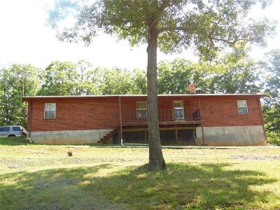 Potosi Single Family Home For Sale: 12697 South State Highway 21