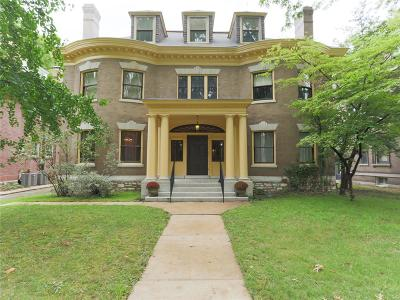 St Louis City County Single Family Home For Sale: 27 Waterman Place
