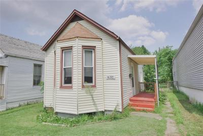 St Louis City County Single Family Home For Sale: 4157 Osceola Street