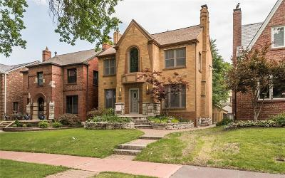 St Louis City County Single Family Home For Sale: 6255 Walsh Street