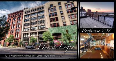 St Louis City County Condo/Townhouse For Sale: 1015 Washington Avenue #707
