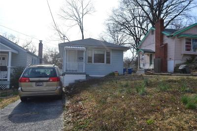 St Louis MO Single Family Home For Sale: $19,500