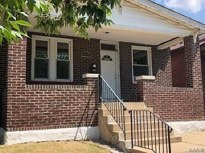 St Louis MO Single Family Home For Sale: $44,900