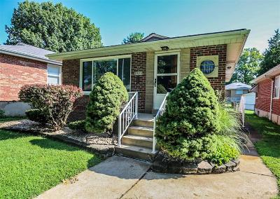 St Louis City County Single Family Home For Sale: 3925 French