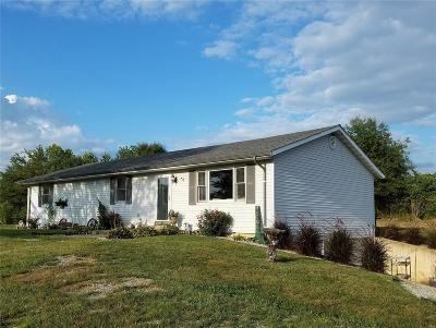 Monroe County, Ralls County Single Family Home For Sale: 51655 Hwy Hh