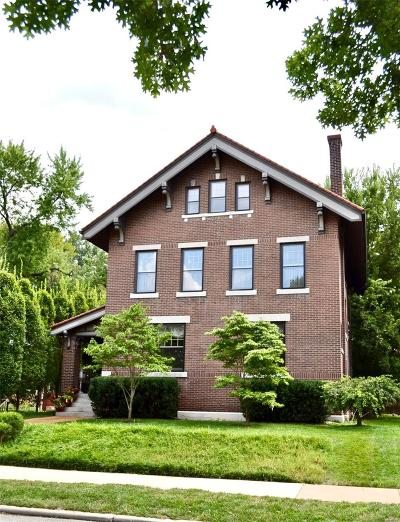 St Louis City County Single Family Home For Sale: 4100 Flora Place
