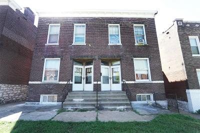 St Louis City County Multi Family Home For Sale: 3624 Alberta Street