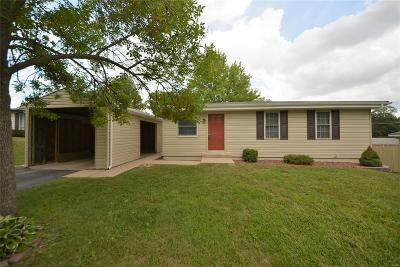 Cottleville, St Peters Single Family Home For Sale: 45 Orchard Hills Drive