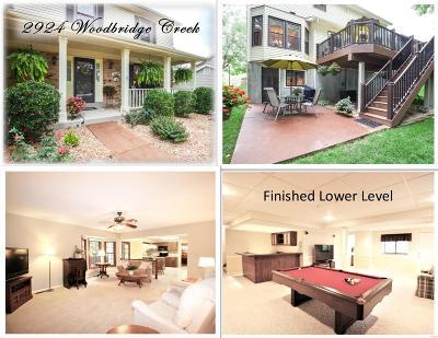 Single Family Home For Sale: 2924 Woodbridge Creek Drive