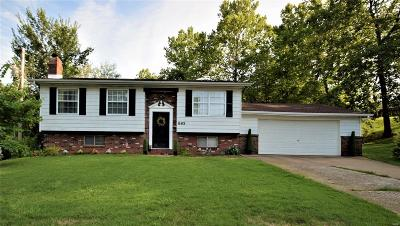 Pevely Single Family Home For Sale: 885 Banks Drive