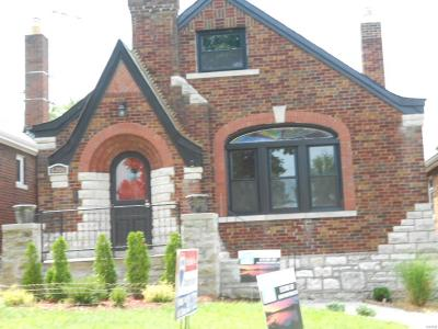 St Louis City County Single Family Home For Sale: 6206 Chippewa Street
