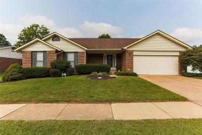 St Louis City County, St Louis County Single Family Home For Sale: 15435 Cousteau Drive