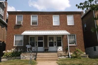St Louis City County, St Louis County Single Family Home For Sale: 3943 Keokuk