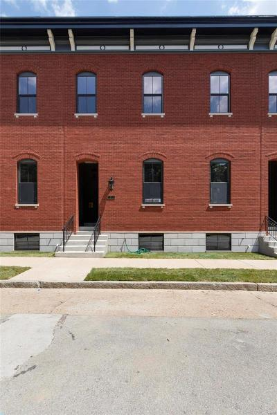 St Louis City County Condo/Townhouse For Sale: 1816 South 10th Street