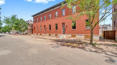 St Louis City County Condo/Townhouse For Sale: 1820 South 10th Street