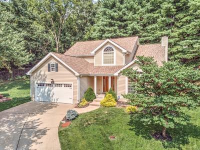 Maryland Heights Single Family Home Contingent No Kickout: 12303 Rule Hill Court