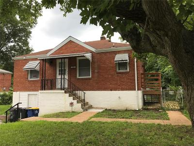 St Louis City County, St Louis County Single Family Home For Sale: 10052 Green Valley