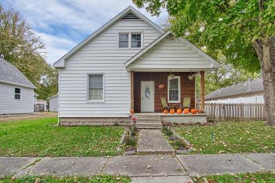 St Jacob Single Family Home For Sale: 502 Napolean
