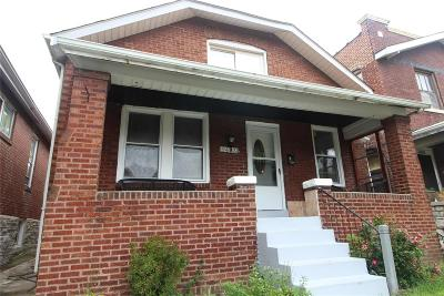 St Louis City County, St Louis County Single Family Home For Sale: 5433 Cologne Avenue